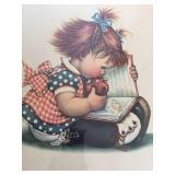 "Vintage ""Fairy Tales"" Framed Art"