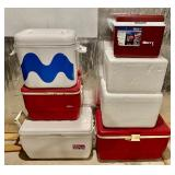 Lots of Coolers!