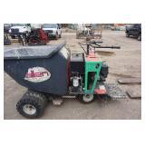 Allen Brand Concrete Buddy Motorized Wheel Barrel