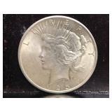 1925 P Peace Dollar
