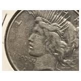 1928 S Peace Dollar