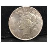 1923 D Peace Dollar