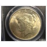 1925 P Peace Dollar MS 64