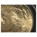 1924 P Peace Dollar MS 63