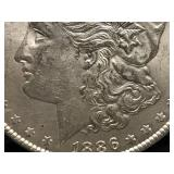 1886 P Morgan Dollar