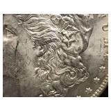 1891 P Morgan Dollar