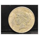 1922 Hobo Peace Dollar