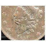 1831 Large Cent