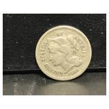 1865 3 Cent