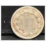 1867 3 Cent