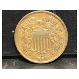 1864 2 Cent