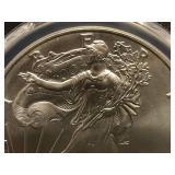 2001 1oz Liberty Silver Coin PCGS MS69