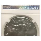 2010 Walking Liberty MS69 Early Releases