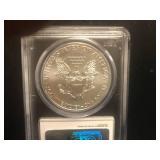 2011 Walking Liberty 1 oz Silver Coin Gem BU 25th Anniversary
