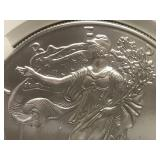 2011 S 1oz Liberty Silver Coin MS70 Early Releases