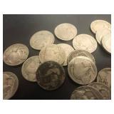 25 Indian Head Nickels