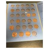 Book of Lincoln Heat Cent (incomplete) + 6 1953 D Bu & 1 1957 D Bu