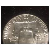 1956 P Franklin Half Dollar