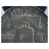 1963 D Franklin Half Dollar MS64