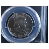1960 Franklin Half Dollar PCGS MS 64