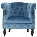 Noble House - Tacoma Club Chair - Aqua