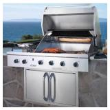 """Dacor - 36"""" Outdoor Grill Trim Kit - Silver"""