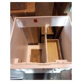Naples 24 in. W x 21.63 in. D Bath Vanity Cabinet Only in White by Home Decorators Collection