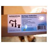 Kingston Brass KB1975AX 8-Inch Widespread Lavatory Faucet, Oil Rubbed Bronze