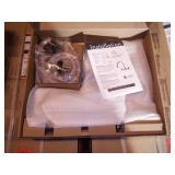 Vetta Chrome 2-Handle Deck-Mount High-Arc Handle Kitchen Faucet (Deck Plate Included)
