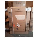 Hampton Assembled 24x34.5x24 in. Base Kitchen Cabinet in Unfinished Beech by Hampton Bay