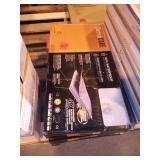 TerraCore Calacatta 12 in. W x 24 in. L Click-Lock Luxury Vinyl Tile (48 Sq Ft)
