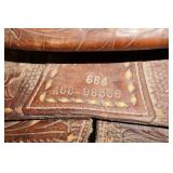 "Leather 15"" Western Saddle"