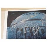 2 MN Timberwolves Team Signed Cards - Kevin Garnett
