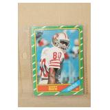 1986 Topps Jerry Rice #161 Rookie Card