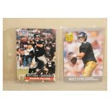 2 Brett Favre Atlanta Falcons Rookie Cards