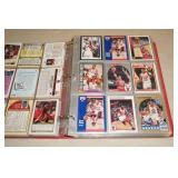 Binder of Basketball Cards - Jordan, Pippen, Hakeem, Malone, Barkley