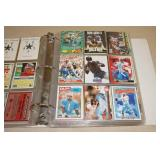Binder of Football Cards - Montana, Elway, Marino, Bo, Rice, Payton