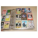 Binder of Baseball Cards - Ryan, Ripken, Sandberg, Kirby