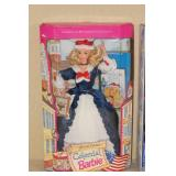 2 Special Edition Barbie Dolls - Colonial, Little Debbie Snacks
