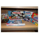 Board Games - Simpsons, NASCAR, Star Wars, Mind Trap