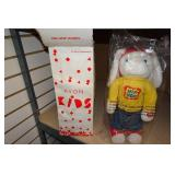 Stuffed Animals - Snoopy, Vintage Bozo Puppet