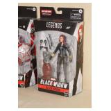 2 Marvel Legends Black Widow Action Figures