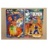 2 Vintage X-Men Action Figures