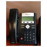 MSRP 199.00 Each Lot Of 2 Polycom SoundPoint IP 335 2 Line SIP Phone - Great Working Condition!