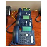 MSRP $250 Each Lot Of 3 High Quality Snom 370 IP Business Telephones - Great Working Condition