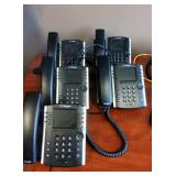 MSRP $275 Each Lot Of 5  Polycom VVX 411 Gigabit IP Advanced Speed HD Voice & Skype Technology 12 Line Phone Appearance Business Telephones Great Working Condition!