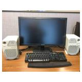 WOW Dell Vostro 460 Business Desktop Tower Computer, Samsung SyncMAster E2420 Monitor, Juster Active 95A Multimedia Speakers With Integrated Amplifier - All Great Working Condition!