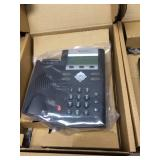 Large Lot Of What Appears To Be New And Used Polycom Sound Point Phones *Untested
