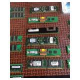 Various RAM Computer Parts