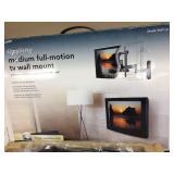 "Simplicity Medium Full Motion TV Wall Mount 19"" - 40"" LCD Model SMF1-B1""Brand New In Box"""